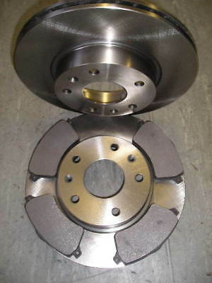 Freelander 1.8,2.5,2.0 Td4 Front Brake Discs And Pads 2001-'06 Next Day Delivery • 44.95£