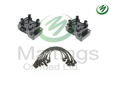 Discovery V8 Coil Pack+leads Series 2 Thor Engine Coil Packs X2 98-04 Err6045G • 74.95£