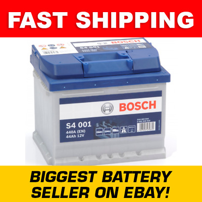 063 Bosch Car Battery With 4 Year Guarantee - Next Day Delivery - S4 001 - 44Ah • 52.95£