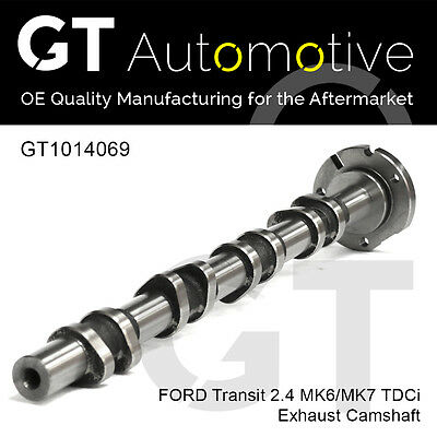 Exhaust Camshaft For Ford Transit 2.4 Tdci Phfa Jxfa H9fd H9fb 6c1q6a273bb • 59.85£