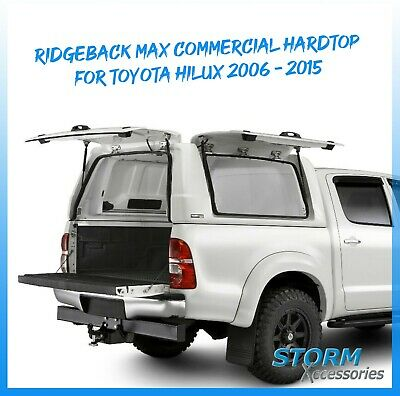 Ridgeback Max Commercial Hardtop Cover For Toyota Hilux 06-15 Dc -pure White 040 • 1,920£