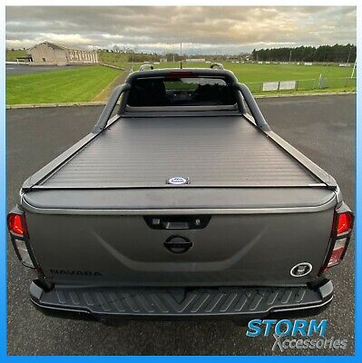 Armadillo Roll Top Cover - Tonneau Cover For Nissan Navara NP300 D-Cab 2016 On  • 1,260£