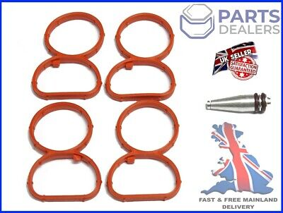 Swirl Flap Flaps Plug Blank Removal Replacement With Gasket For Bmw N47 2.0 • 15.99£