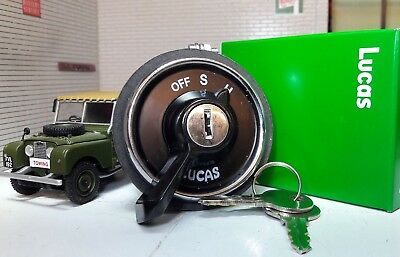 Genuine Lucas OEM 217589 Headlight Ignition Switch & Key Land Rover Series 1 80 • 95.65£
