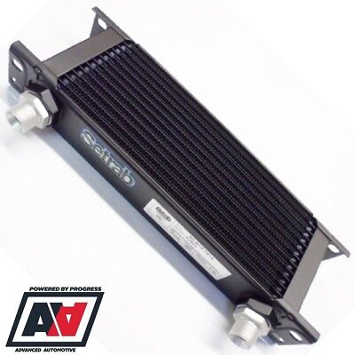 Setrab Oil Cooler 16 Row 235mm Matrix With Dash 10 AN10 Fittings 50-616-7612 ADV • 122.57£