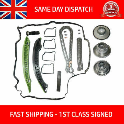 Fits Mercedes M271 Turbo Charged Timing Chain Kit Camshaft Gears W204 W212 Cgi • 269.90£