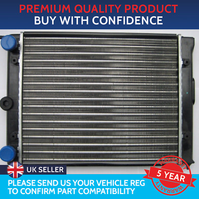 RADIATOR TO FIT VOLKSWAGEN POLO 1.0 1983 TO 1990 SEAT TERRA KIT CAR 380mm CORE • 30£