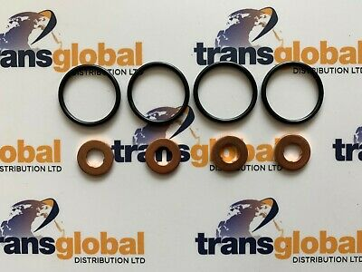 Injector Washers & Seals For Land Rover Freelander 1 2.0 TD4 01-06 • 23.95£