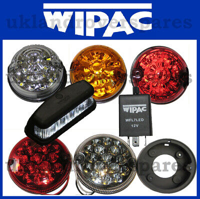 Land Rover Defender Wipac Led Lamps Front & Rear, Side, Stop, Indicator, Fog Etc • 15.99£
