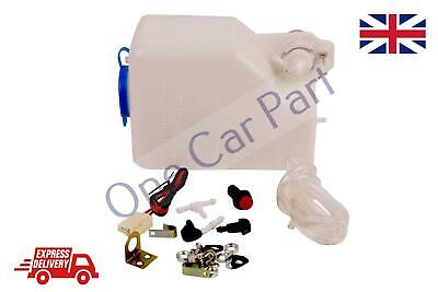 Complete 24V Washer Set 1.5L - Rally Race Kit Car Project Wiper Pump Replacement • 13.84£