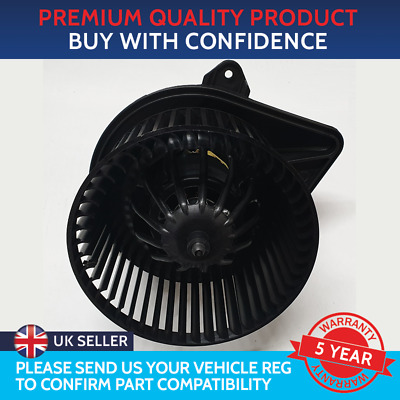 Blower To Fit Vauxhall Vivaro A Mk1 Renault Trafic Mk2 Without Air Conditioning • 44.25£