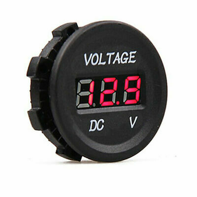 12/24v Dc Led Voltmeter Voltage Gauge Display Panel Volt Meter Car Camper  • 5.79£