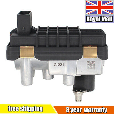 G-221 Turbo Electronic Actuator For Ford Mondeo Jaguar X-Type 2.0 2.2TDCi 130HP • 59.39£