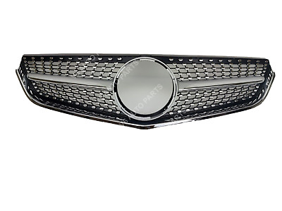 Front Radiator Mask Grille For 2009 - 2013 Benz E - Class A207 E250 Amg Diamond • 125£