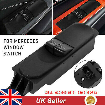 Electric Window Switch Console For Mercedes Benz Sprinter VW Crafter 2006-15 UK • 15.89£