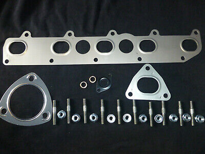 Land Rover Td5 Exhaust Manifold Gasket+extended Studs+nuts-defender-discovery 2 • 24£