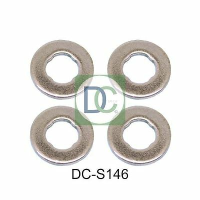 Fiat Doblo 1.3 JTD Bosch Common Rail Diesel Injector Washers / Seals Pack Of 4 • 6.37£