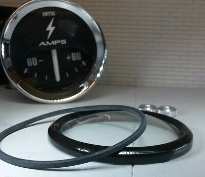 Auxiliary Jaeger Smiths Gauge Reconditioning Kit Domed Glass Black V Bezel 2  • 16.17£