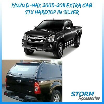 STX HARDTOP IN SILVER - TONNEAU COVER FOR ISUZU D-Max 2003-2011 EXTRA CAB  • 800£