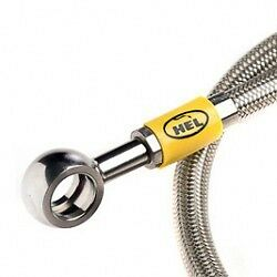 Hel Stainless Braided Clutch Line Hose Toyota Starlet Ep82 Glanza Ep91 Y2760 • 25.99£