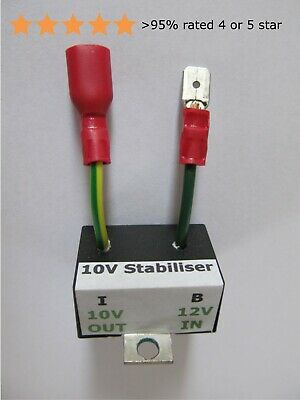 Voltage Stabiliser 10v Electronic – Classic Triumph, TR, MG, L-Rover (as BR13xx) • 10.45£