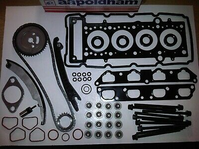 Bmw Mini Cooper-s 1.6 Supercharged Timing Chain Kit + Head Gasket Set & Bolts  • 169.95£