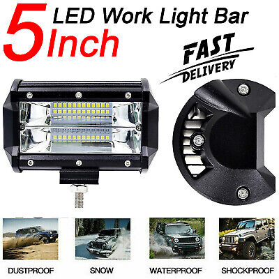 32Inch 1740W Led Work Bar Light For Tractor Boat OffRoad 4WD 4x4 Truck SUV ATV • 44.50£