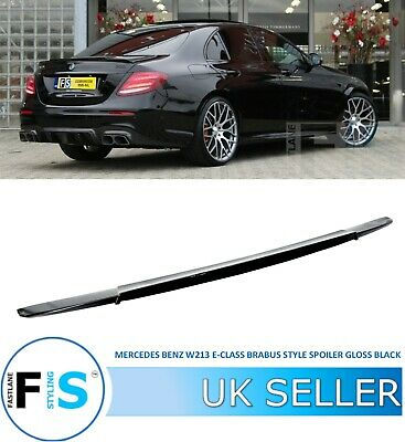 Mercedes Benz E Class W213 B-style Gloss Black Rear Boot Lip Spoiler 100%oem Fit • 579.99£