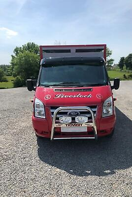 Bull Bar For 2007 - 2014 Ford Transit MK7 Nudge Chin Front A Bar Stainless Steel • 189.99£