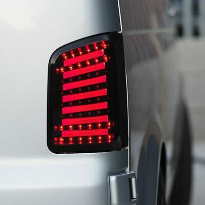 VW T5, T5.1 Transporter LED Rear Lights/Tail Lights/Tail Lamps Barn Door MK2 • 243.99£