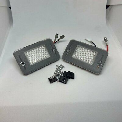 Land Rover Discovery 1 & 2 New Led License Number Plate Lamp Lights & Bulbs (x2) • 11.95£