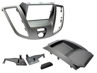 Radio Stereo Facia Fascia Ct23fd68 For Ford Transit Grey Double Din 2015 Onwards • 43.90£