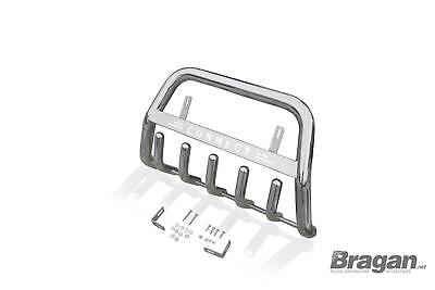 Bull Bar For Ford Transit Tourneo Connect Abar Front Bumper Stainless Silver • 189.99£