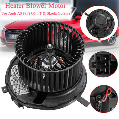 New Heater Blower Fan Motor For Skoda Octavia, Seat Altea Leon Toledo 1K2820015A • 65.99£