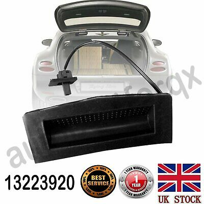 Boot Tailgate Trunk Handle Opening Release Switch 13223920 For Vauxhall ASTRA H • 14.88£
