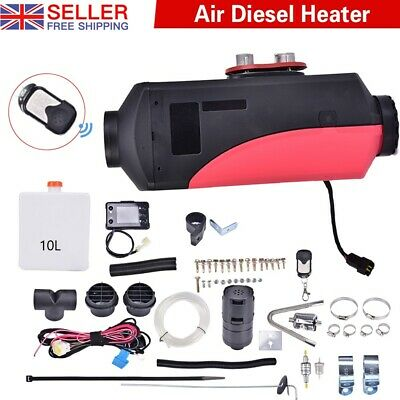 12V 8KW Air Diesel Heater LCD Remote For Home Lorrys Boats Bus Van 8000W • 69.99£