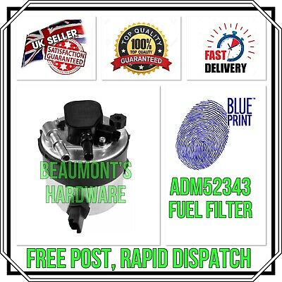 NEW GENUINE BLUEPRINT ADM52343 FUEL FILTER OE QUALITY *Free Post, Rapid Dispatch • 29.99£