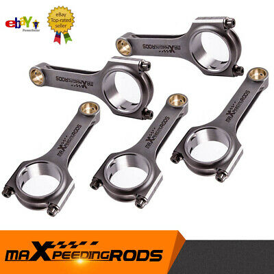 ⭐⭐⭐⭐⭐ Connecting Rods Conrods Fit Fiat Coupe 5 Cyl 2.0 20V Turbo Conrod Con Rod • 239£