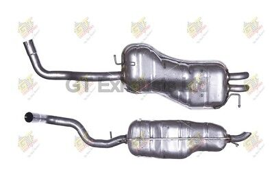For VW Golf  1.9  97-05 Exhaust Rear Back Box + Clamp - AU233T • 52.99£
