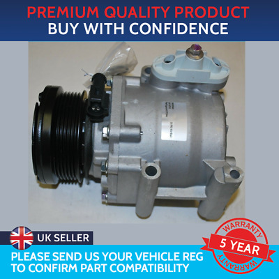 Air Con Compressor Pump To Fit Ford Fiesta Mk5 Mk6 2006 To 2012 Ford Fusion • 164£