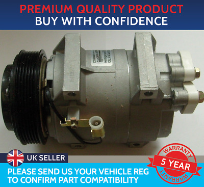 Air Con Compressor Pump To Fit Volvo C70 S60 S80 V70 V90 Xc70 Xc90 • 155£
