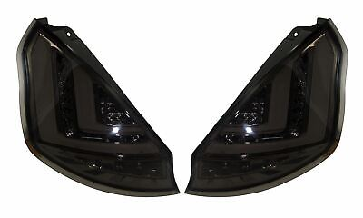 FORD FIESTA MK7 Pre Facelift (2009-2012) SMOKED LED LIGHT BAR REAR TAIL LIGHTS • 199.95£
