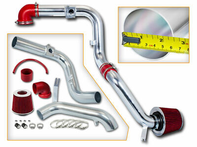 2.5  Red Cold Air Intake Racing Induction Kit + Filter For 00-03 Focus 2.0L L4 • 408.18£