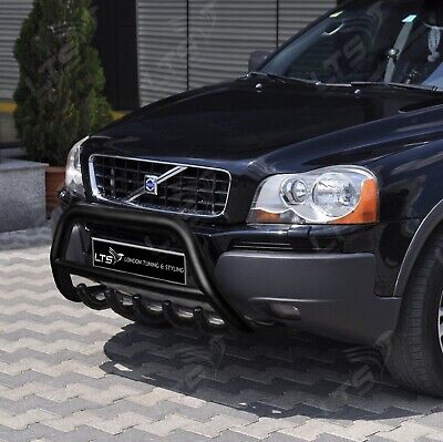 Volvo Xc90 Stainless Steel Black Axle Nudge A-bar Bull Bar Guard 2004-2014  • 154.99£