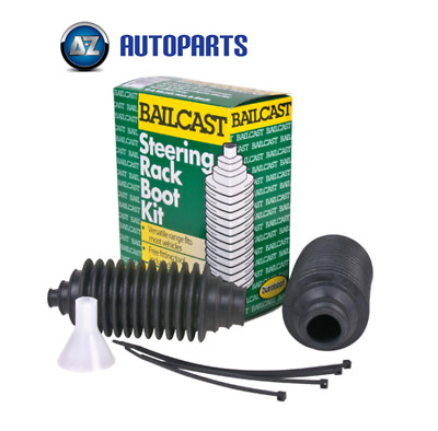 Bailcast - Duraboot Universal Steering Rack Boots Boot Gaiter Kit Pair • 8.95£