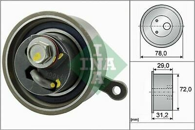 Ina 531 0911 10 Tensioner Pulley Timing Belt • 65.54£