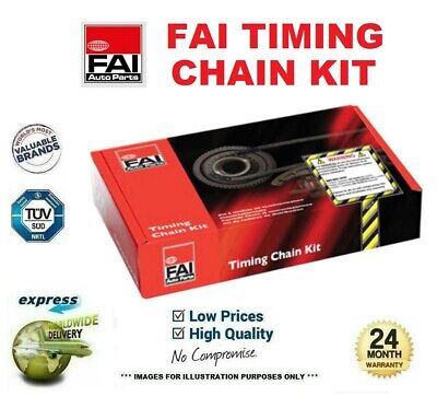 FAI TIMING CHAIN KIT For VAUXHALL VECTRA Mk II 2.0 16V Turbo 2003-2008 • 169.99£