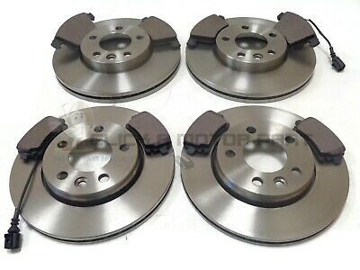 VW TRANSPORTER T5 2.0 TDi FRONT AND REAR BRAKE DISCS & PADS (CHECK DISC SIZES) • 126.95£
