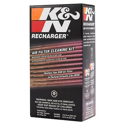 K&N Complete Filter Service Maintenance Recharger Kit Oil And Cleaner - 99-5050 • 13.34£