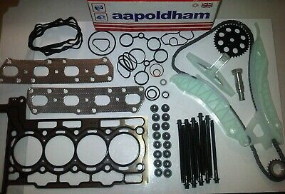 Bmw Mini Cooper-s & Works 1.6 Petrol 2007-on Head Gasket Set & Timing Chain Kit  • 189.95£